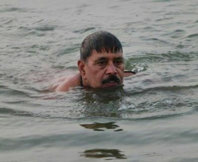 ロシアのエニセイ川支流ポドカメ...
