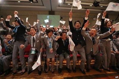 東京オリンピック決定の瞬間 【お題】東京オリンピック決定の瞬間