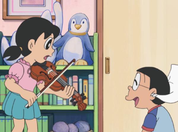 「しずかちゃん バイオリン」の画像検索結果
