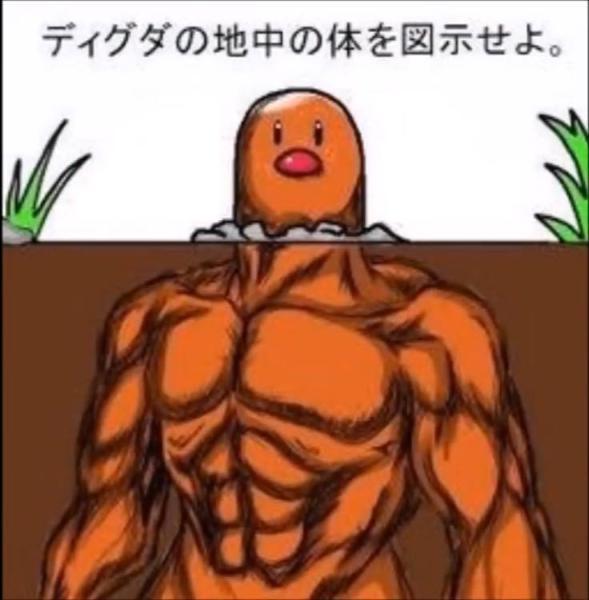 ポケモン 実写 画像 ディグダ