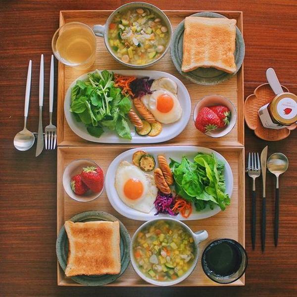 の 夕食 今日