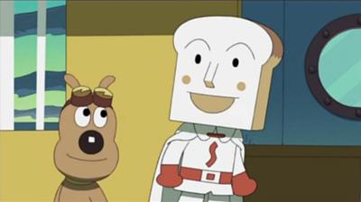 食パンマン「なぁ、チーズ」チーズ「アン?」食パンマン「アンじゃなく ...