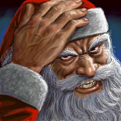 サンタのおじさん - 2013年12月24日深夜ごろにあーたさんが投稿したお題 - ボケて(bokete)