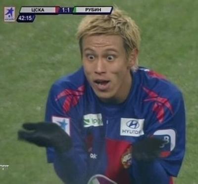 本田△ ゴールキーパー サッカー