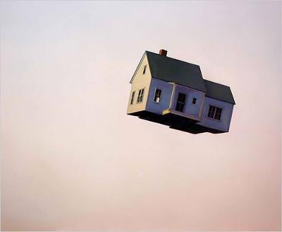 flying house.