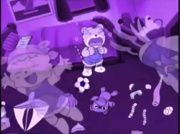腹の中から友達の声が聞こえて初めて自らの過ちに気付いた - 紫色への ...