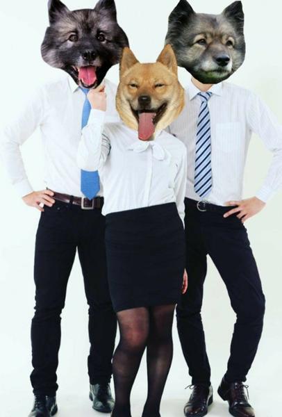 ブルドッグちえみ with Dogs 犬へのボケ 59228986 ボケて bokete