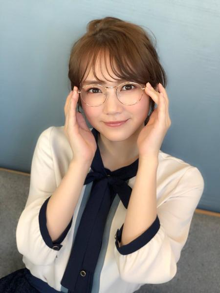 こう言うメガネっ娘好きなんだなぁこれが。 - 眼鏡へのボケ[80541731 ...