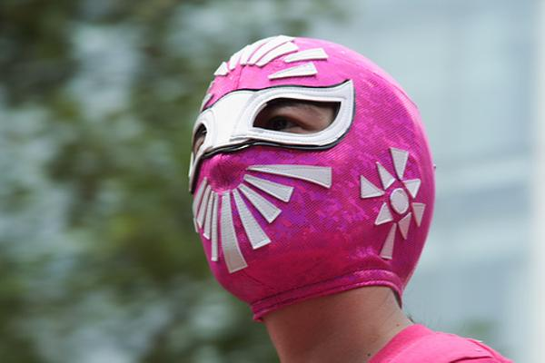 けっこう仮面 - マスクへのボケ[61831488] - ボケて(bokete)