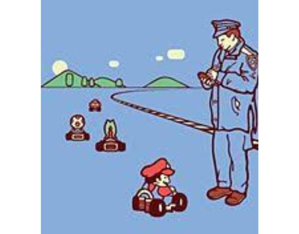 運悪く警察官の前でキノコを使っ...