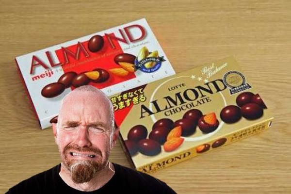 俺さあだ名アーモンドなんだよ、...